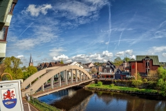 Le Roi Brücke Im Frühling